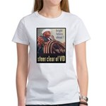 Steer Clear of VD Poster (Front) Women's T-Shirt