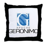 Apache Geronimo Throw Pillow