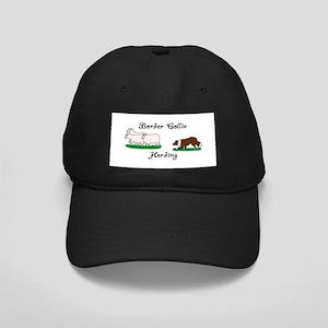 Border Collie Herding Black Cap