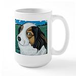 Max, the dog Large Mug