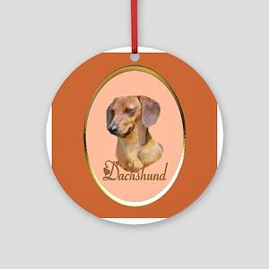 Dachshund Lover Gifts Ornament (Round)