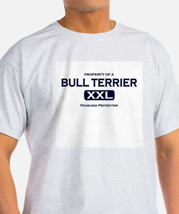 Property of Bull Terrier Grey T-Shirt