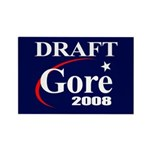 DRAFT GORE 2008 Rectangle Magnet (100 pack)