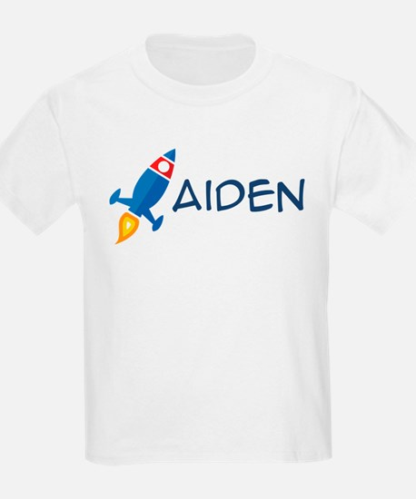 Aiden Rocket Ship T-Shirt