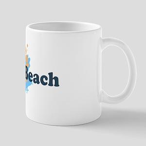 Kure Beach NC - Seashells Design Mug
