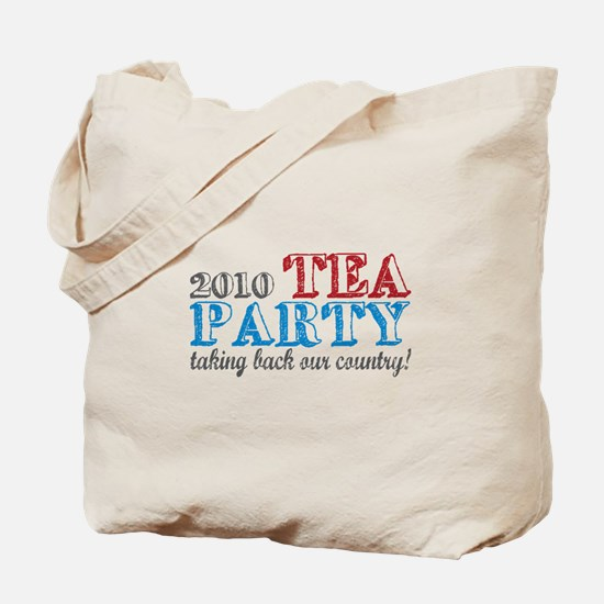 Tea Party 2010 Elections Tote Bag