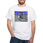 Too Modded White T-Shirt