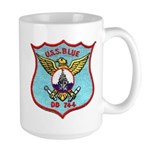 USS BLUE Large Mug