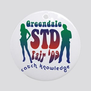 Greendale STD Fair Ornament (Round)