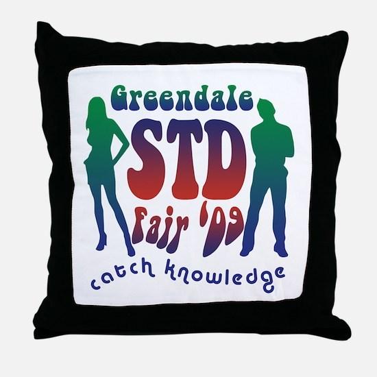 Greendale STD Fair Throw Pillow