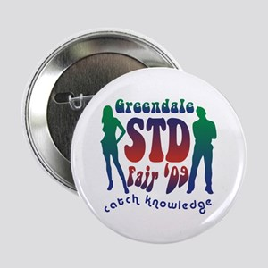 """Greendale STD Fair 2.25"""" Button"""