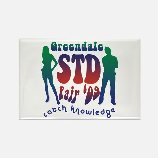 Greendale STD Fair Rectangle Magnet