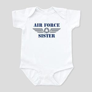 Air Force Sister Infant Bodysuit