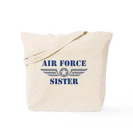 Air Force Sister Tote Bag