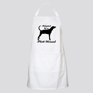 ADOPTED by Plott Hound BBQ Apron