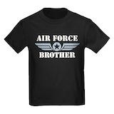 Air force brother Kids T-shirts (Dark)