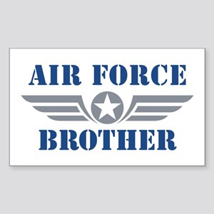 Air Force Brother Sticker (Rectangle)