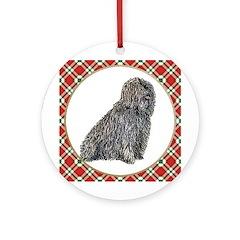 Puli Christmas Ornament (Round)