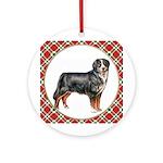 Bernese Mountain Dog Christmas Ornament (Round)
