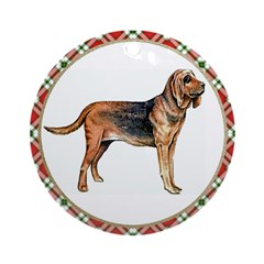 Bloodhound Christmas Ornament (Round)