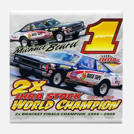 2009 Stock World Champion Tile Coaster