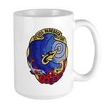 USS BLUEBACK Large Mug