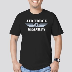 Air Force Grandpa Men's Fitted T-Shirt (dark)
