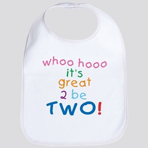 Whoo Hooo 2nd Birthday Bib
