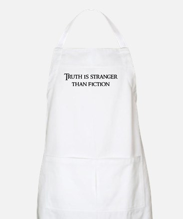 Truth is stranger BBQ Apron