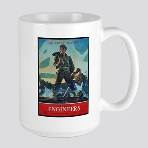 Army Corps of Engineers Large Mug