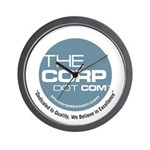 The Corp Dot Com Wall Clock