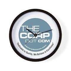 The Corp Dot Com Wall Clock