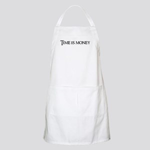 Time is money BBQ Apron