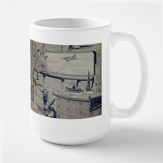 Tom Swift Lab Large Mug