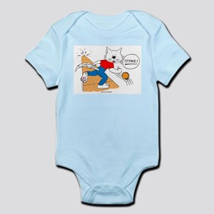 Catoons™ Bowling Cat Infant Bodysuit