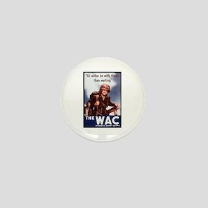 WAC Women's Army Corps Mini Button