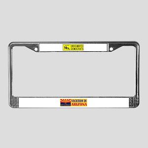 DEPORT KENYAN ILLEGALS License Plate Frame