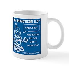Office Opossums Remoticon Blueprint Mug