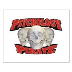 Psychology Pirate Small Poster