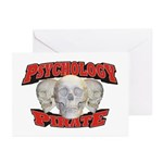 Psychology Pirate Greeting Cards (Pk of 10)