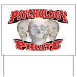 Psychology Pirate Yard Sign