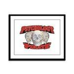 Psychology Pirate Framed Panel Print