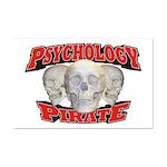 Psychology Pirate Mini Poster Print