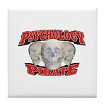 Psychology Pirate Tile Coaster