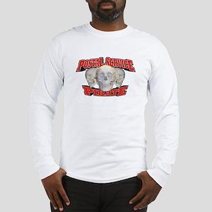 Postal Service Pirate Long Sleeve T-Shirt