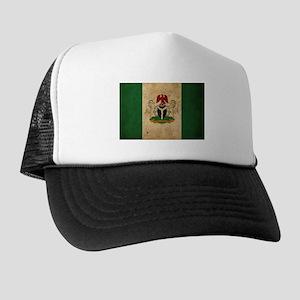 Vintage Nigeria Flag Trucker Hat