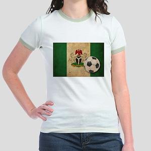 Vintage Nigeria Football Jr. Ringer T-Shirt