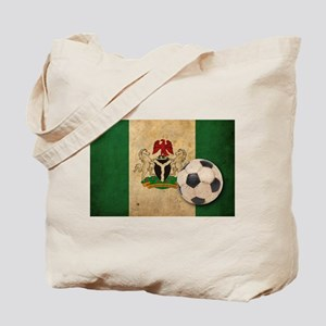 Vintage Nigeria Football Tote Bag