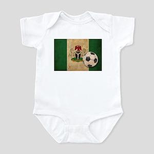 Vintage Nigeria Football Infant Bodysuit