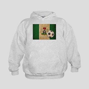 Vintage Nigeria Football Kids Hoodie